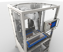 compact portioning machine, bakery