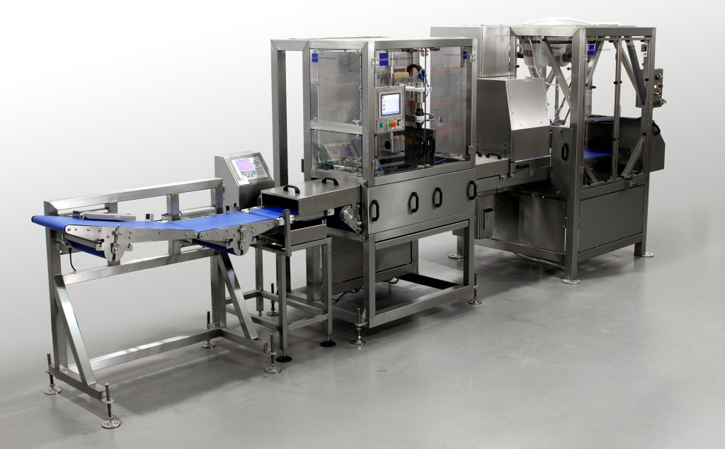 ultrasonic cheese cutting solution with pick and place