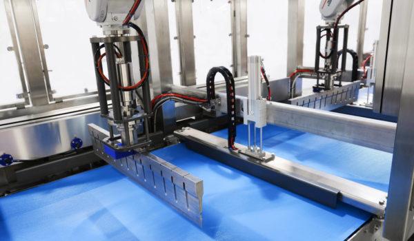 Twin Ultrasonic food cutting machine